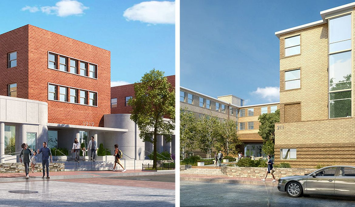 Howard University Dormitory Conversions in LeDroit Park Nearing Completion